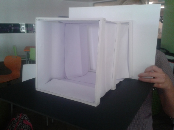 Fold away Play House prototype