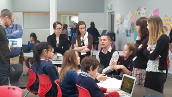 Apocalypse Now students undergo the #edchatnz grilling and discuss their learning