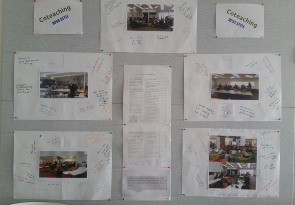 Coteaching HPSS Style Wall Display